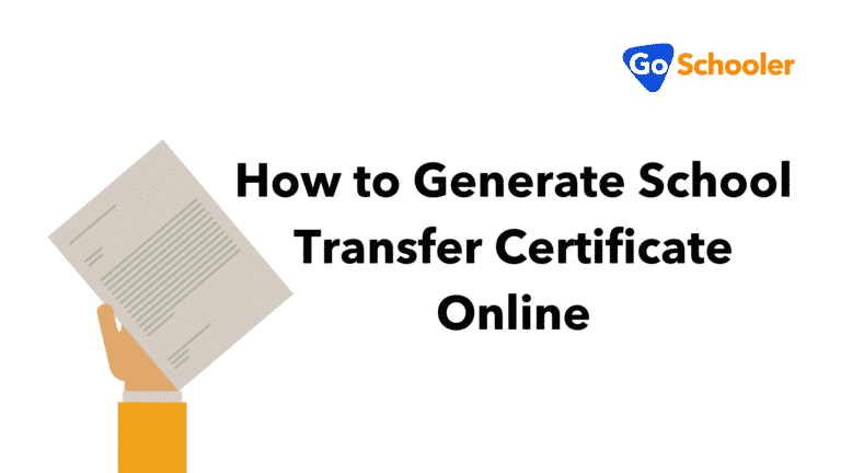 How to Generate School Transfer Certificate Online
