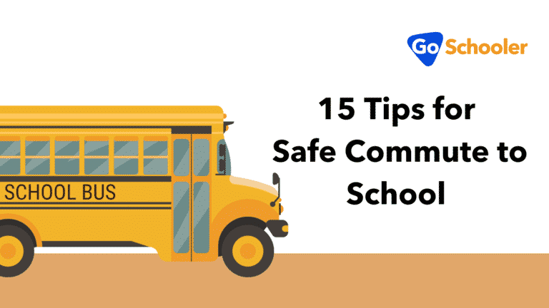 15 Tips for Safe Commute to School