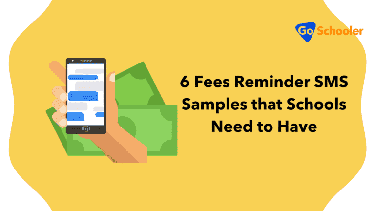 6 Fees Reminder SMS Samples that Schools Need to Have