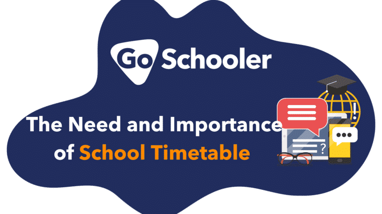 The Need and Importance of School Timetable