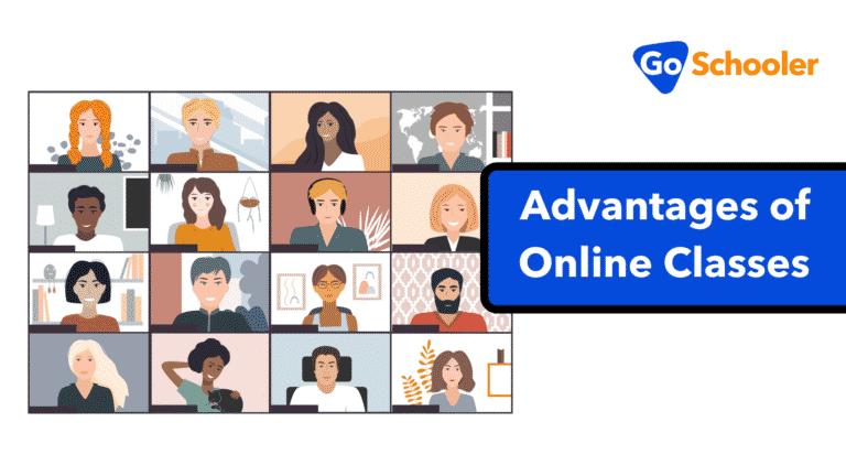 8 Advantages of Online Classes