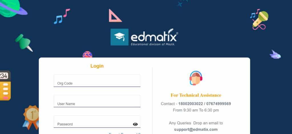 Edmatix student record management system