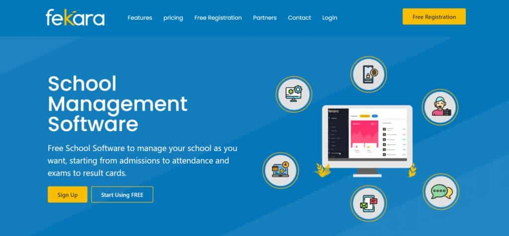 Fekara student record management system